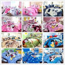 best mickey mouse bedding set cotton bed linen for children home textile twin full queen king