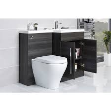 White Bathroom Suite Cordoba Bathroom Suite With Rh Grey Combi Vanity Unit