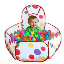 ball pit for babies. playpen for baby children ocean ball pool play tent outdoor game of balls manege pit babies u