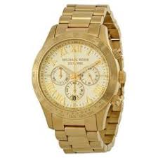 men s watches sears michael kors layton chronograph champagne dial gold tone men s watch mk8214