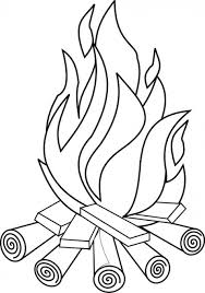 Small Picture Camping Coloring Pages and Sheets for Adults and Kids Campfires