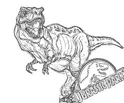 Small Picture New Jurassic Park Coloring Pages 63 About Remodel Download