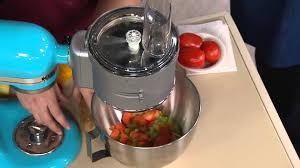 KitchenAid Premium Food Processor Stand Mixer Attachment With David Venable