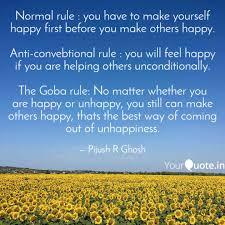 Quotes On Helping Others Awesome Normal Rule You Have To Quotes Writings By Pijush R Ghosh
