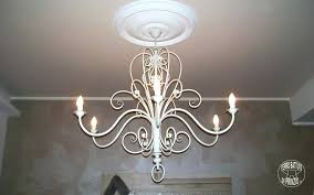 white wrought iron chandelier chandeliers antique white wrought iron chandelier wrought iron and crystal white 4