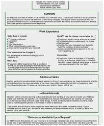 Things To Include In Your Resumes 72 Awesome Images Of Things To Include In A Resume Best Of