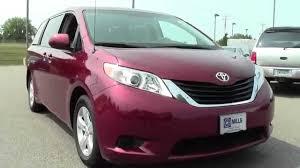 2013 Toyota Sienna 8 Passenger Van V6 LE FWD 6U140122 - YouTube