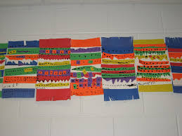 Patterned Blankets Mesmerizing Jamestown Elementary Art Blog Kindergarten Mexican Patterned Blankets