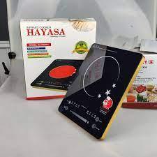 Bếp không kén nồi]Bếp Hồng Ngoại 2 vòng nhiệt Hayasa 780slim, công suất  2000W, phím cảm ứng-Hàng chính hãng   Gia Dụng NuHa