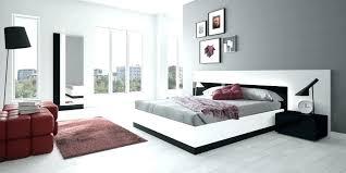 Modern Bedroom Sets White Modern Platform Beds Master Bedroom ...