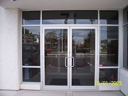 Single Glass Storefront Door