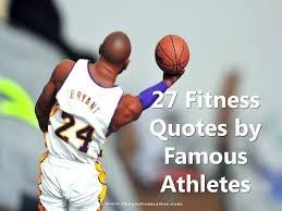 Famous Athlete Quotes Beauteous 48 Fitness Quotes By Famous Athletes