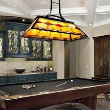 pool table light 3 light accent glass shade hanging pendant billiards chandelier