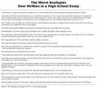 my high school experience essay example essays school experience essays and papers 123helpme
