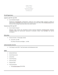 Sample Plain Text Resume Resume Resume Plain Text Resume Format ...