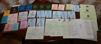 Хе х Вахтенный журнал стареющего пирата Примерно так выглядит комплект сертификатов дипломов свидетельств и удостоверений современного моряка