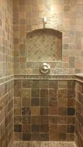Lovely Slate Bath Together With Slate Shower Niche Shower Niche Tile Ideas  in Shower Tile Designs