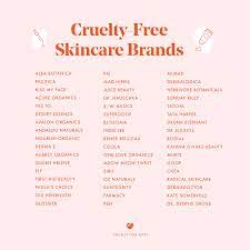 51 free skincare brands for