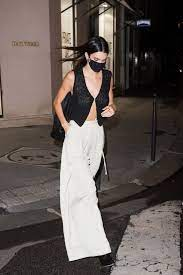 Kendall Jenner Wears Sheer, Single ...