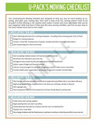 Free Office Relocation Checklist Template Templates
