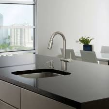 furniture awesome black marble kitchen countertop and stainless