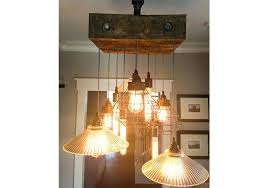 reclaimed wood beam chandelier reclaimed beam lamp cage industrial chandelier fake chandeliers for bedrooms