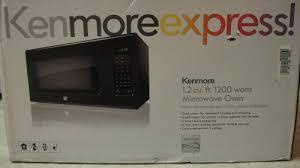 asin b004waajxc title kenmore 1 2 cu ft countertop microwave black model 69129 brand kenmore feature image