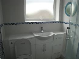 Great White Bathroom Tiles With Border On Home Design Planning e