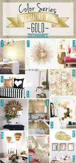 Small Picture Best Gold Home Decor Ideas On Pinterest Accents Rare Design Zhydoor