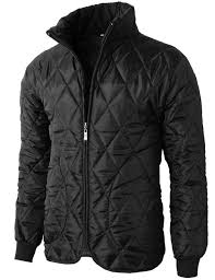 Cheap Slim Quilted Jacket, find Slim Quilted Jacket deals on line ... & Get Quotations · H2H Mens High-Neck Slim Fit Lightweight Quilted Padded  Jacket With Pocket Adamdwight.com