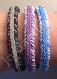 Mini Loom Designs New Rainbow Loom Mini Fishtail Crossover Mash Up Bracelet