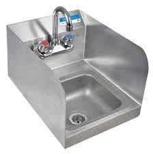 sm space saver hand sink 2 hole w faucet