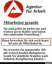 Agentur Für Arbeit Lustige Bilder Sprüche Witze Echt Lustig