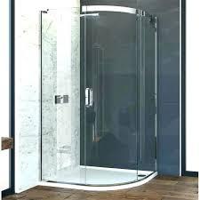 curved glass shower door cued glass shower door sliding corner designer bathroom catch cued glass shower