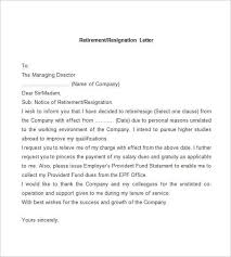 Resignation Letter Format Or Sample - Hollywoodcinema.us