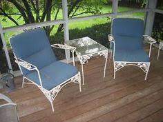 vintage iron patio furniture. Vintage White Wrought Iron Patio Furniture Set