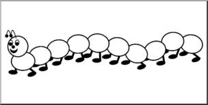 caterpillar clipart. Fine Clipart Clip Art Counting Caterpillar Bu0026W Unlabeled I Abcteachcom  Preview 1 In Clipart I