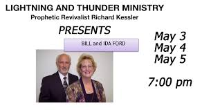 Lightning and Thunder Ministry presents Bill and Ida Ford - Bridge View  Center - Ottumwa, Iowa