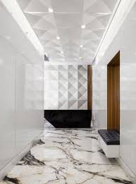 Wood And Marble Floor Designs Beautiful Marble Floor Built In Bench Niche Tufted Black
