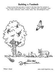 food chain clipart black and white - Clipground