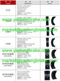 Fmsi Brake Shoe Set S726 1417 K4451
