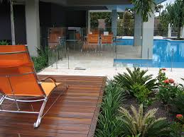 frameless glass pool fence south brisbane