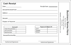 Free Taxi Receipt Template Example Receipt For Payment