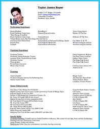 Dance Resume Homework Help District Library d100 high school dance resume 94
