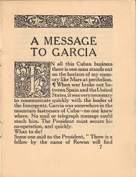 message to garcia essay a message to garcia chris gagn atilde acirc copy marine a message to garcia chris gagnatilde131acirccopy