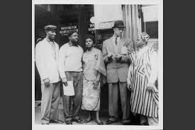 years after malcolm x civil rights icon inspired fear and love   human rights activist malcolm x talking to ian students and african american locals in harlem