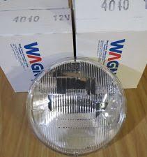 12v sealed beam wagner 4040 sealed beam incandescent headlamp bulb 12v set of 2~nos