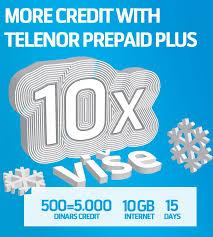 Telenor Recharge Chart Prepaid Tariff Packages