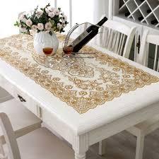trendy wedding table cloth pvc restaurant home decorative tablecloth vintage slip resistant kitchen coffee table cover souq uae