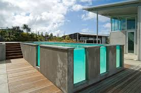 Small Picture 25 Finest Designs Of Above Ground Swimming Pool Home Design Lover